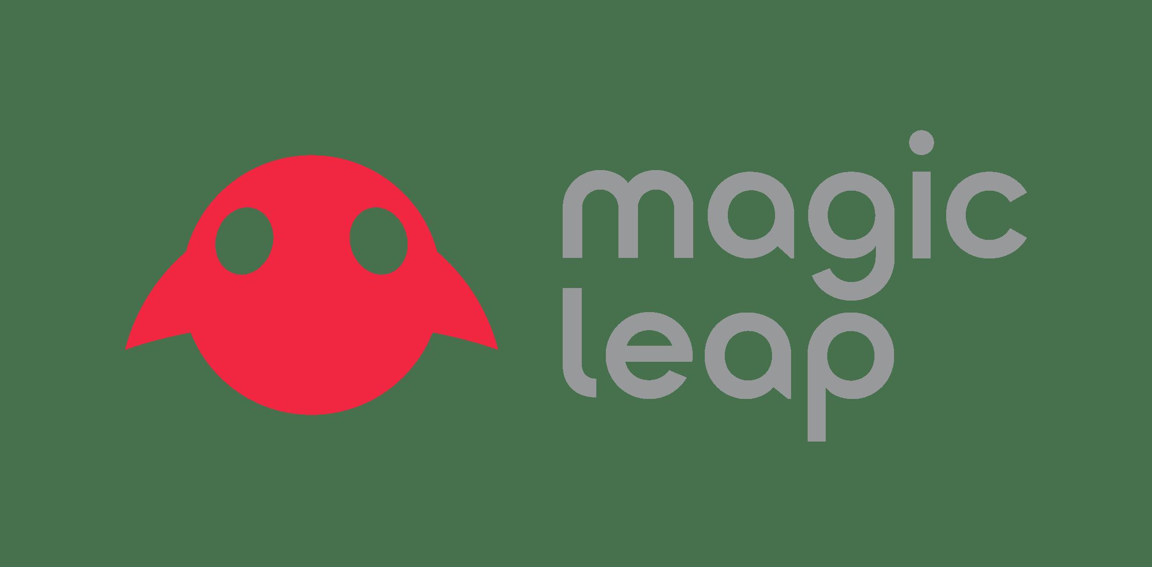 Magic Leap Logo Lockup (Color)