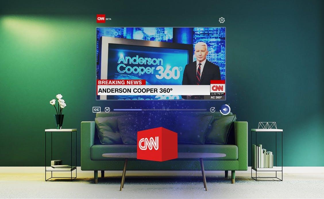 CNN, an experience for Magic Leap One
