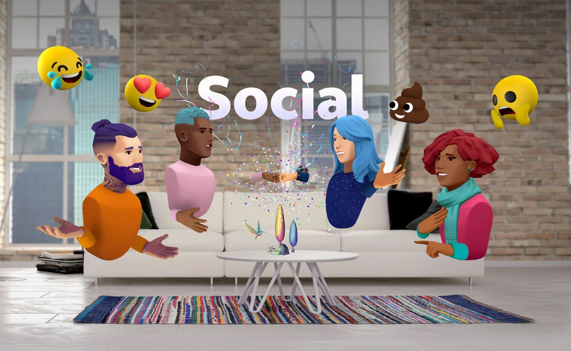 Magic Leap One's Social Experience