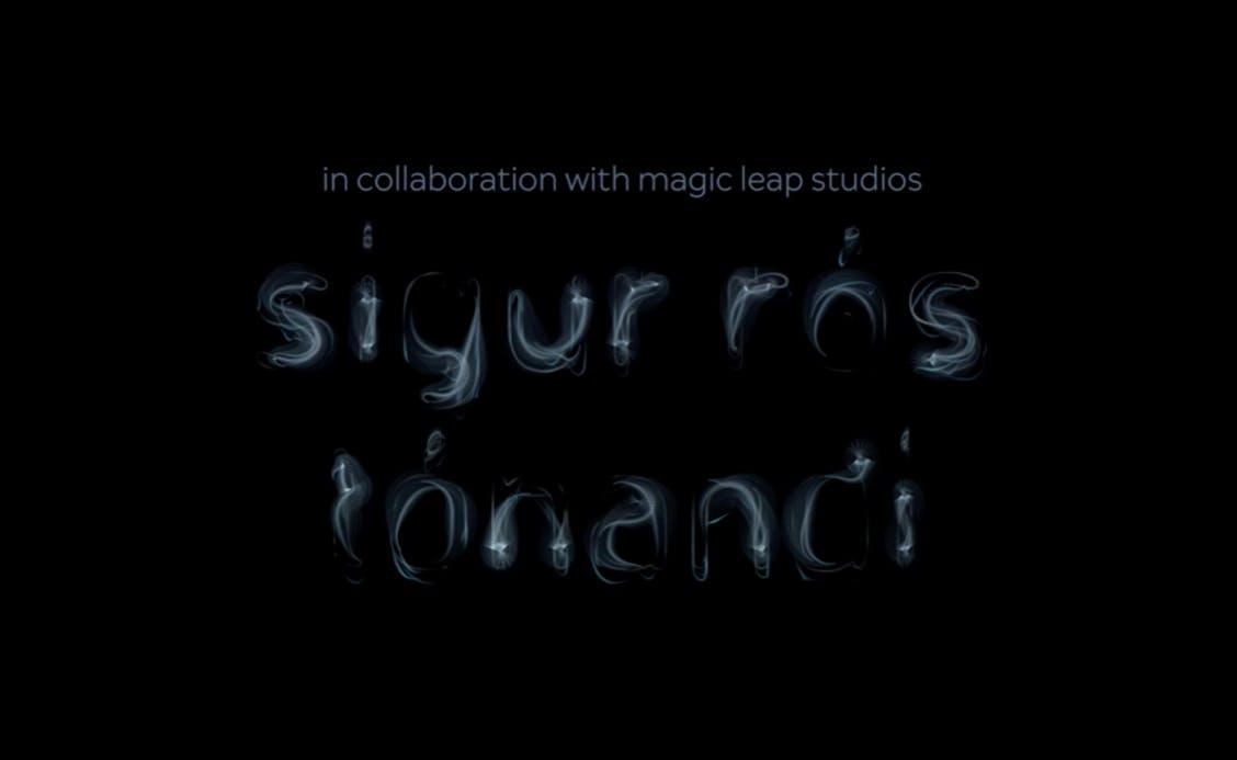 Tondandi, a collaborative app from Sigur Ros and Magic Leap Studios