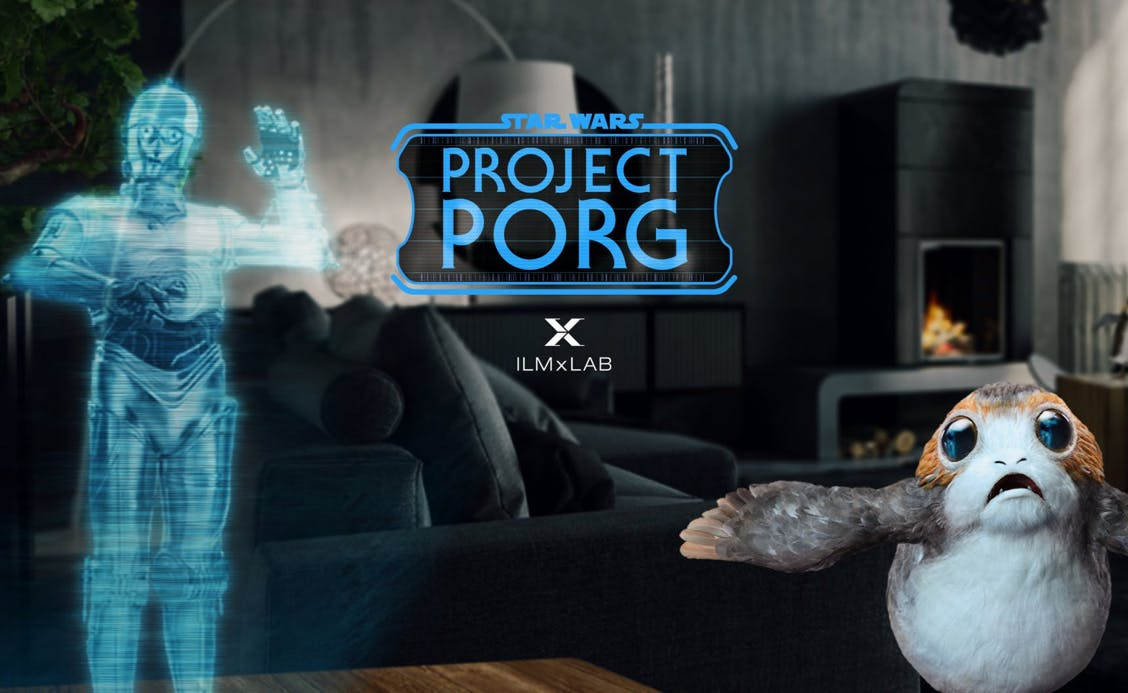 Star Wars: Project Porg, a Magic Leap One app